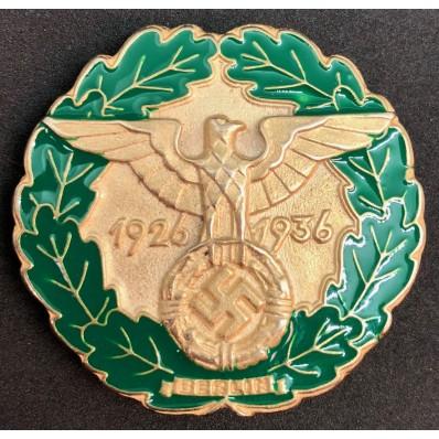 Gau-Traditionsabzeichen Berlin 1936 (Gold)