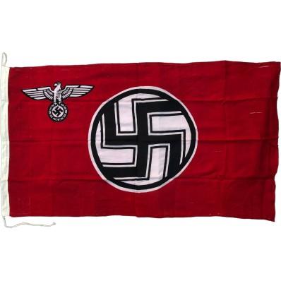 Fahne - Deutsche Reichsdienststelle (Baumwolle)