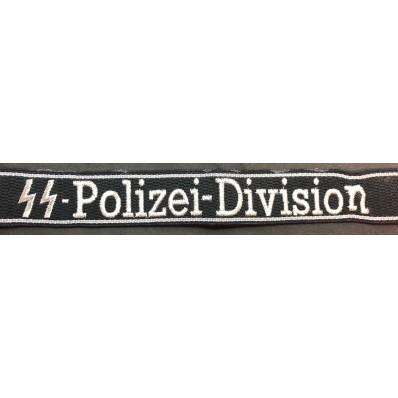 Cuff Title - SS-Polizei-Division
