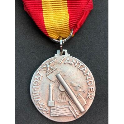 Medal for the Battle of Santander