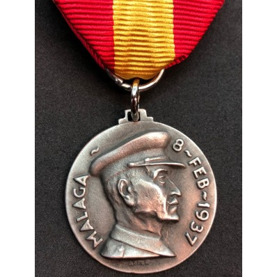 Battle of Malaga Medal