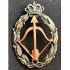 Abzeichen für Kriegsaktionen, Abfangjäger Flugzeug - von RR.AA. (Bronze)