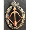 Badge for War Actions, interceptor airplane - of RR.AA. (Bronze)