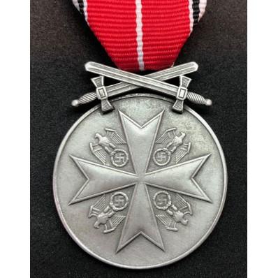 German Merit Medal with Swords