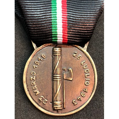 Gedenkmedaille der faschistischen Bewegung des RSI