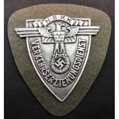 """""""N.S.K.K. Verkehrserziehungsdienst"""" Battle Shield"""