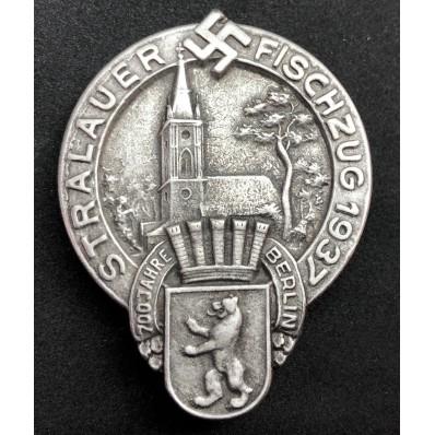 """Distintivo """"700 Jahre Berlin - Stralauer Fischzug 1937"""""""