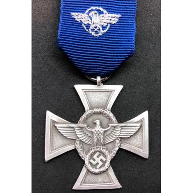 Medaglia di Lungo Servizio nella Polizia di 2a Classe - 18 Anni