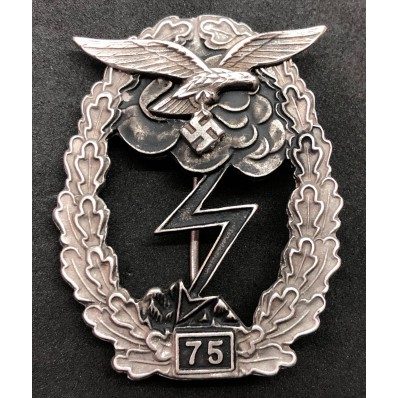 Ground Assault Badge Of The Luftwaffe - 75 Assaults