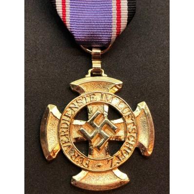 Medaglia di Lungo Servizio Nella Luftschutz di 1a Classe