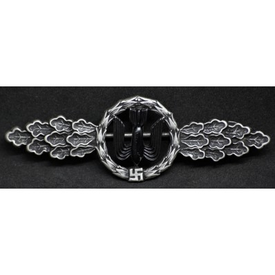 Bomber Clasp (Silver)