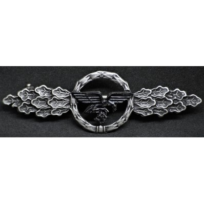 Luftwaffe Transport And Glider Squadron Clasp (Silver)