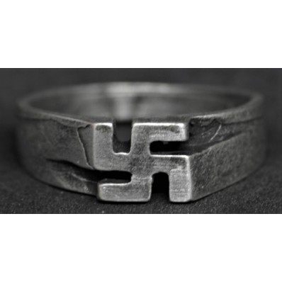 Ring - Swastika (22mm)