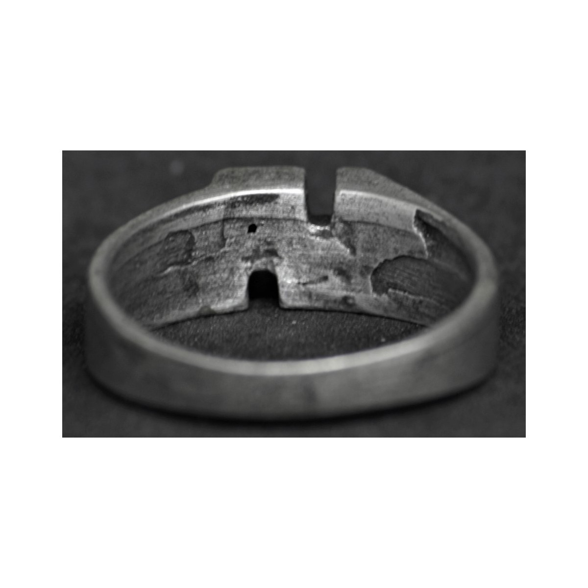 Ring Hakenkreuz 22mm War Militaria