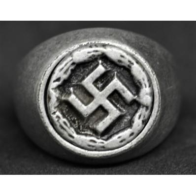 Ring - Swastika (21mm)