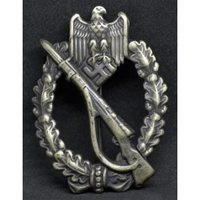 """Infantry Assault Badge in Bronze (Maker """"Schauerte und Höhfeld"""")"""