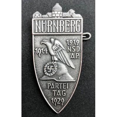 Nürnberg Rally Badge (Silver)