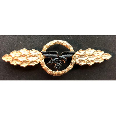 Luftwaffe Transport And Glider Squadron Clasp (Gold)