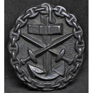 Marine Verwundetenabzeichen (Schwarz)