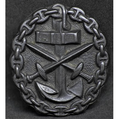 Naval Wound Badge (Black)