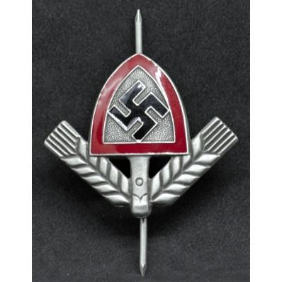 Reichsarbeitsdienst (RAD) Cap Badge