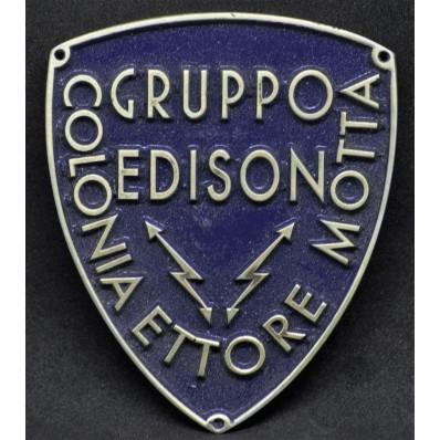 """Schild - Gruppo Edison, Colonia """"Ettore Motta"""""""
