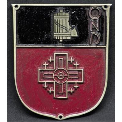 Schild - OND Asmara 1930