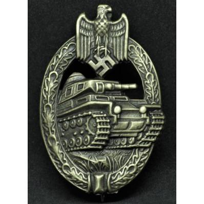 Panzer Badge in Bronze (Producer Assmann)