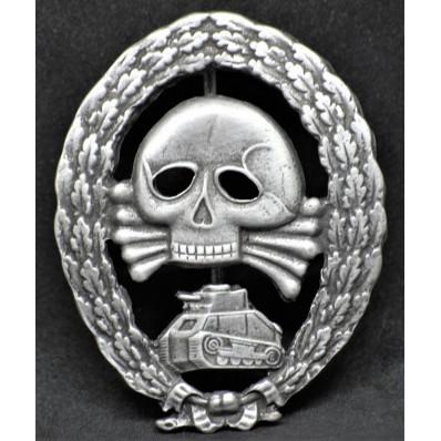 Distintivo Partecipazione In Combattimenti Con Unità Corazzate In Spagna - Legione Condor (Argento)