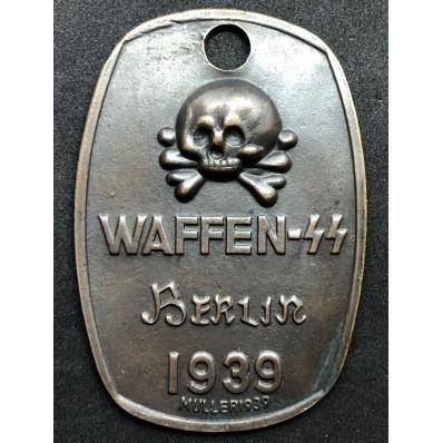 "SS Identification Tag ""Berlin 1939"""