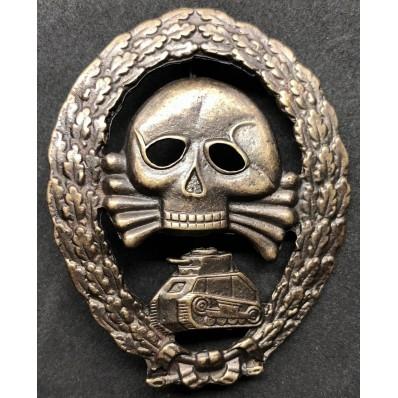 Distintivo Partecipazione In Combattimenti Con Unità Corazzate In Spagna - Legione Condor (Bronzo)