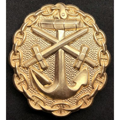 Naval Wound Badge (Gold)