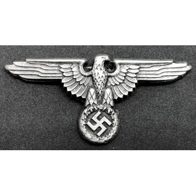 Repro SS eagle hat badge ww2 for reenactment