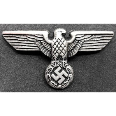 SA Eagle Badge for Hat (Silver)