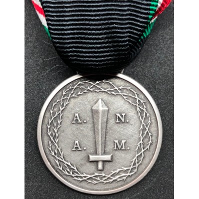 Medal for the Twentieth anniversary of the M.V.S.N. Foundation (Silver)