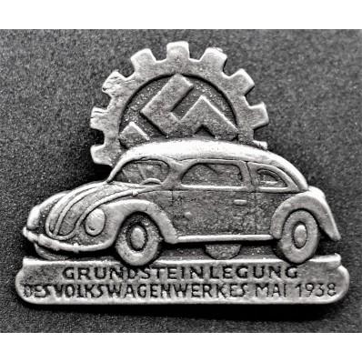 Distintivo Volkswagen (Argento)