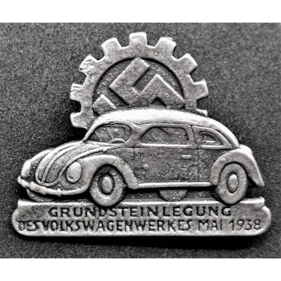 Volkswagen Abzeichen (Silber)