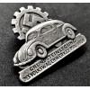 Volkswagen Badge (Silver)