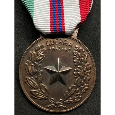 Medaglia Per Guerra Di Liberazione Dal Fascismo 1943-45