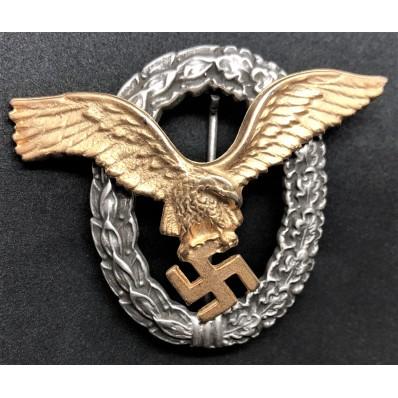 Pilot Badge (Gold)