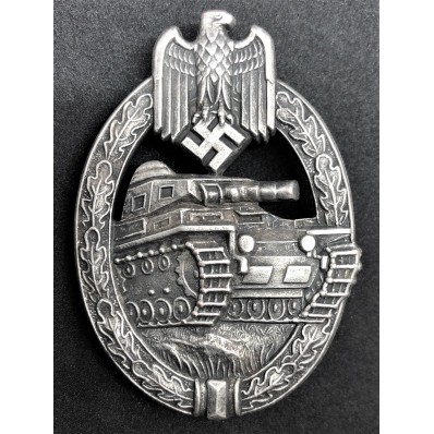 Panzerkampfabzeichen (Silber)