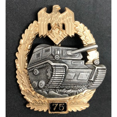 Panzer Badge - 75 Assaults