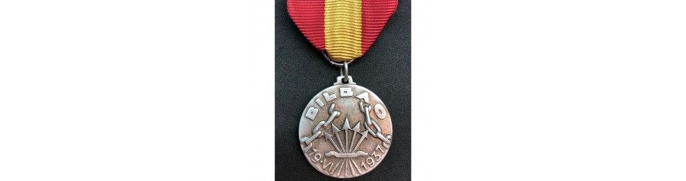 War in Spain Medals