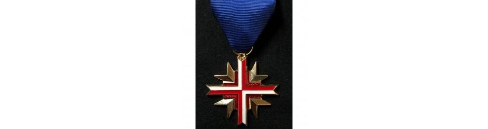 Medaillen, Orden und Auszeichnungen